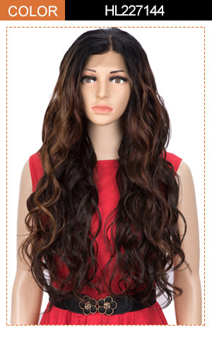 Easy 360 Synthetic Lace Front Wig | 28 Inch Body Wave Wig |Grace by Noble