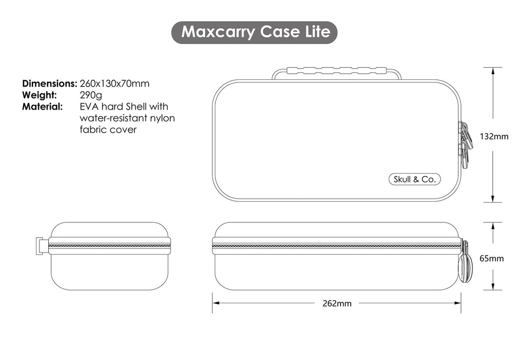 MaxCarryCase Lite for Switch Lite