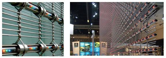Grid-type LED screens