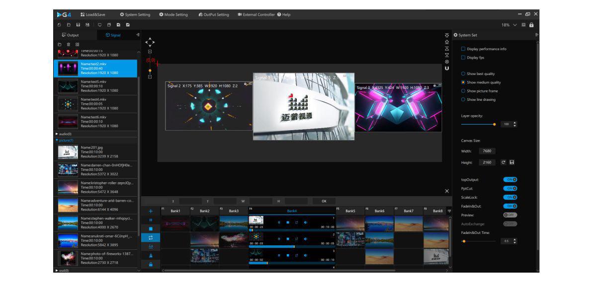 Magnimage MIG-M4K LED Display Screen Video Server