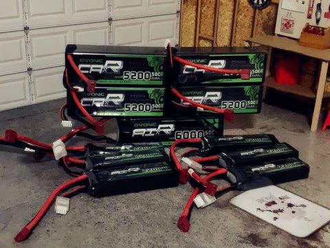 battery 7.4 v 5200mah