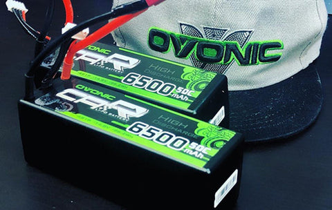 Ovonic 6500mAh 4S 14.8V 50C LiPo Battery Pack