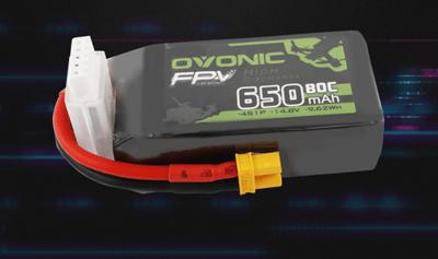 ovonic 650mah 4s lipo for micro FPV
