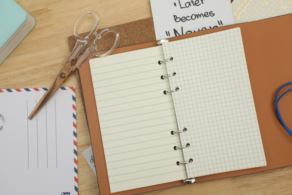 Phomemo PU Leather Loose-leaf Notebook