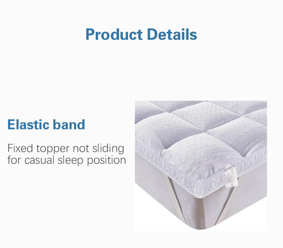 Ultra Soft Mattress Topper,Comfortable and soft and breathable. Luxurious bedding.