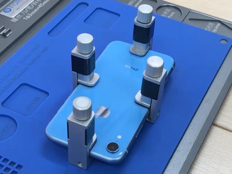 A melhor maneira de substituir o vidro traseiro do iPhone XR