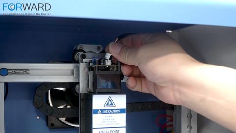 Como instalar uma máquina de separação a laser Blue Light