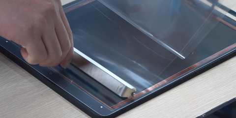 How To Laminate iPad Pro 12.9 Inches Touch Glass With CEO-2+ OCA Lamination Machine?