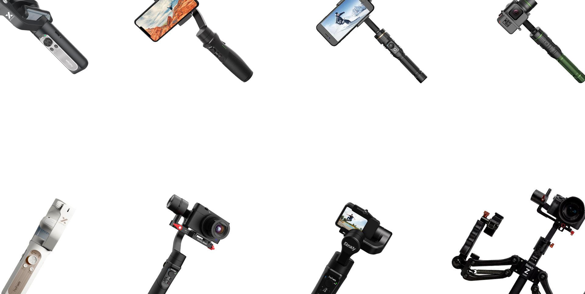 Camera Gimbal Series Comprison