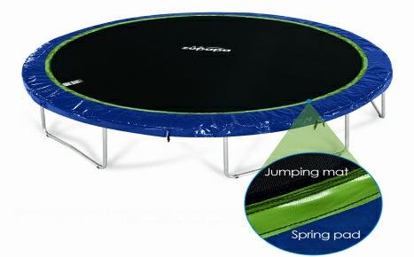 zupapa trampoline safest NO-GAP jumping mat