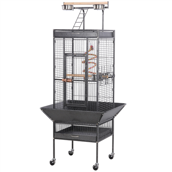 61'' H Parrot Cage