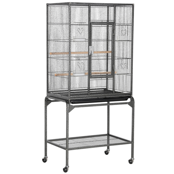 53.7''H Large Parrot Cage with Stand