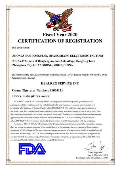 KN95 FDA certification