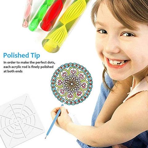 Complete Mandala Dotting Tools Set