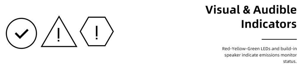 Foxwell NT301 Emission status indicator