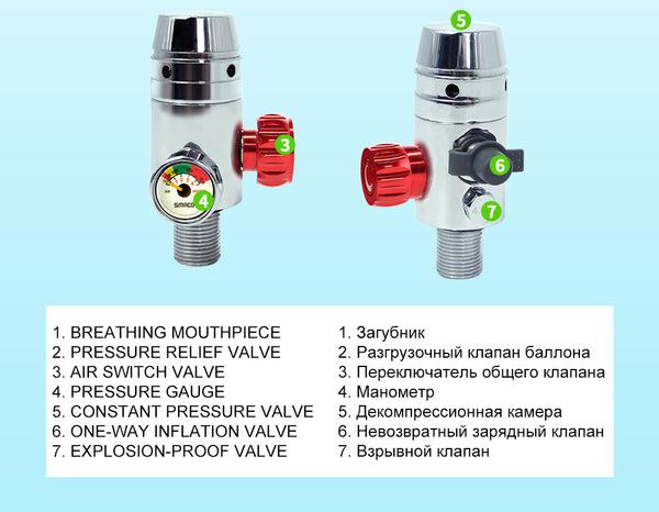1L Scuba Diving Cylinder S400 Diving Equipment