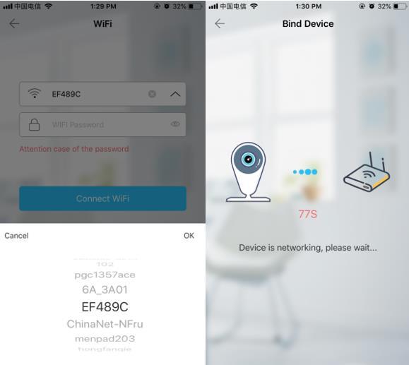 User Manual of Web Wifi Camera
