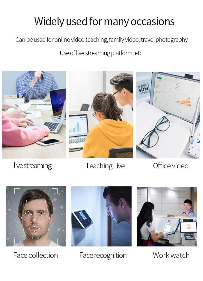 Webcam HD 1080P USB2.0 Computer PC Laptop Web Camera