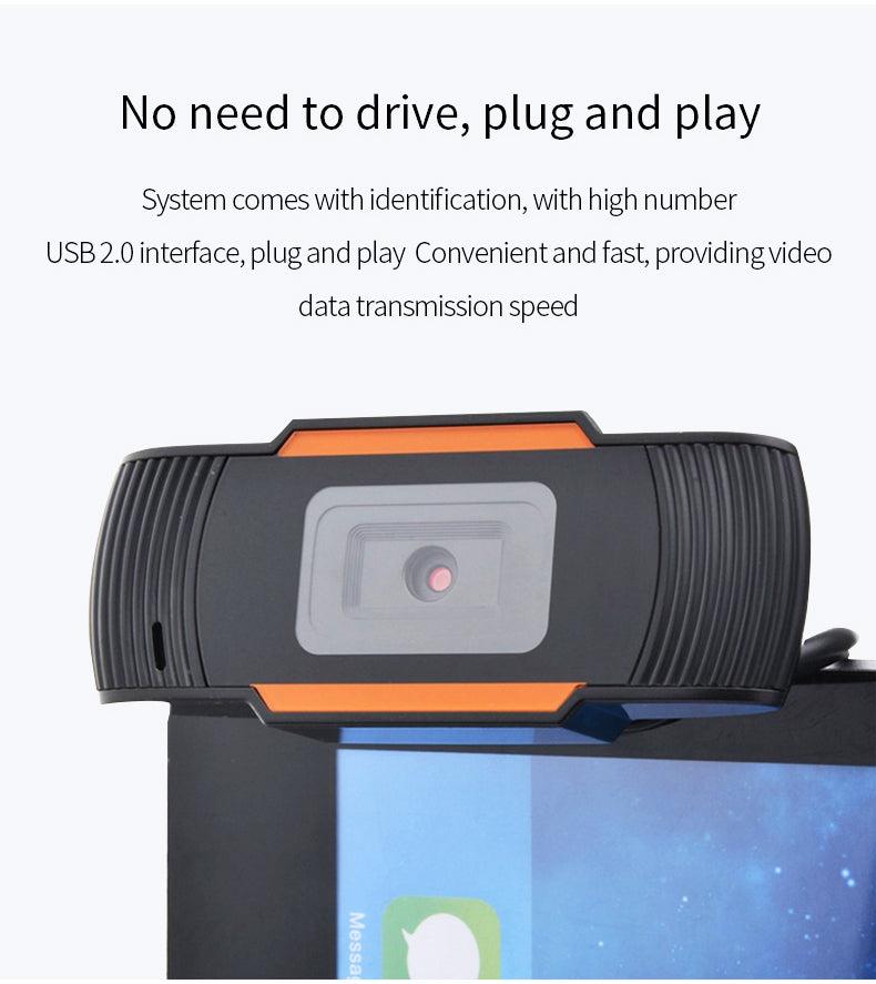 Cámara web HD 1080P cámara de web del ordenador portátil del PC del ordenador de USB2.0