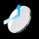 A piece of blue light filter lens that block blue light