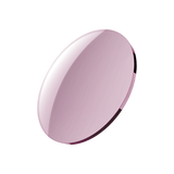 Tinted lens that can be black, grey or purple