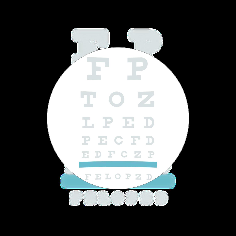 Single vision lenses that correct for vision