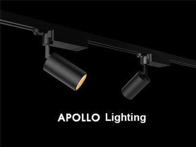 APPLLO Self-adjusting tone light with multiple integrated track spotlights