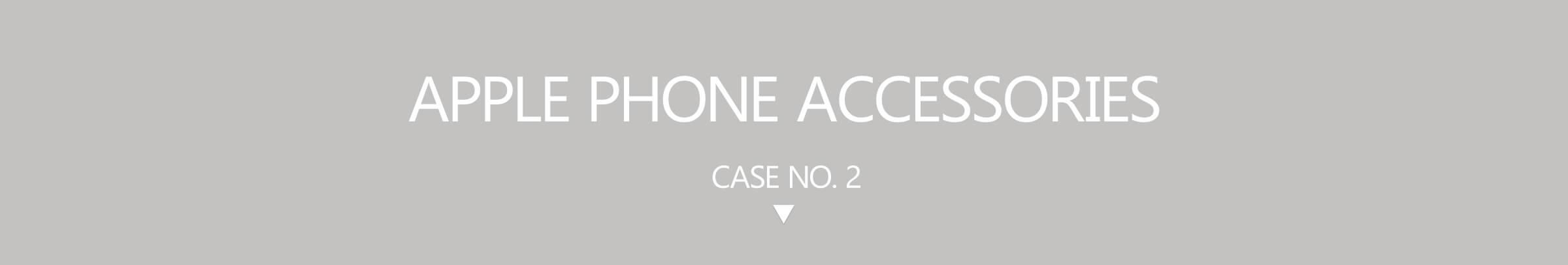 Apple mobile phone accessories store case 2