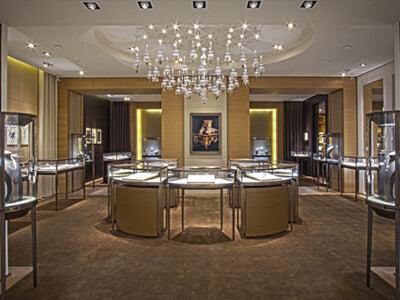 Cartier Luxury Jewelry Shop Design