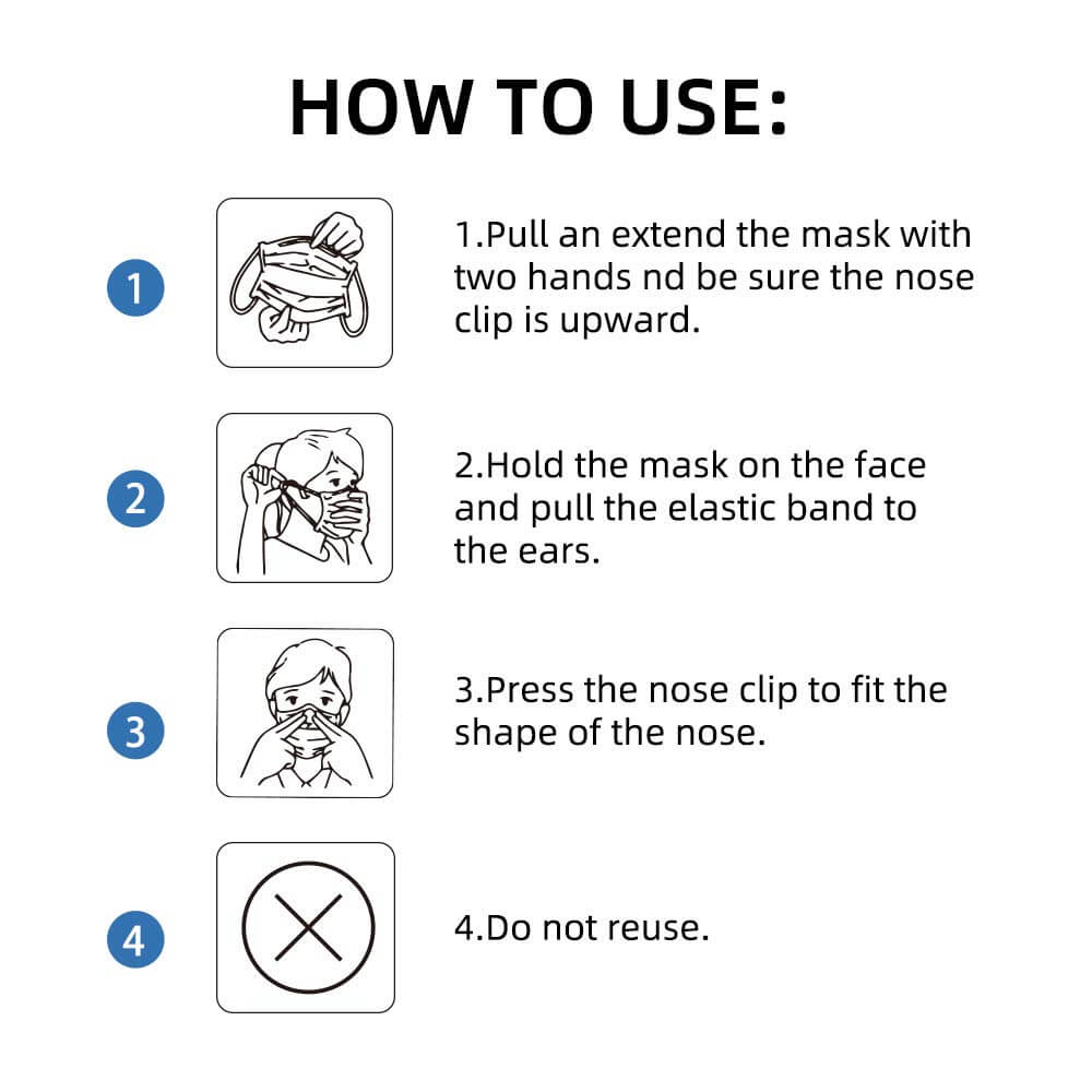 Disposable surgical mask tutorial