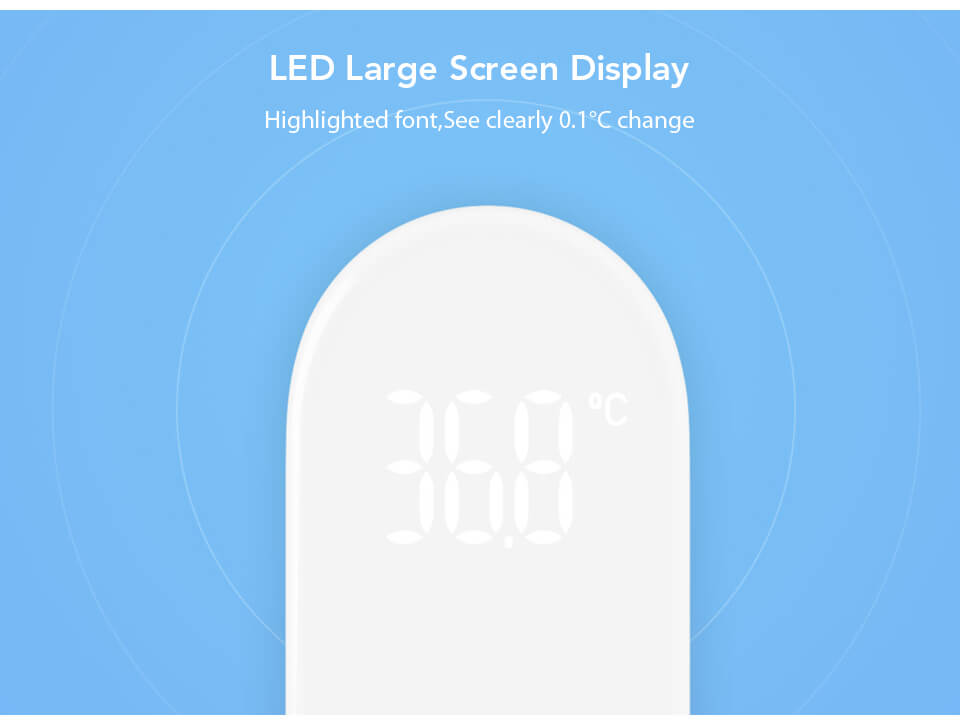 Xiaomi Infrared Thermometer LED Display