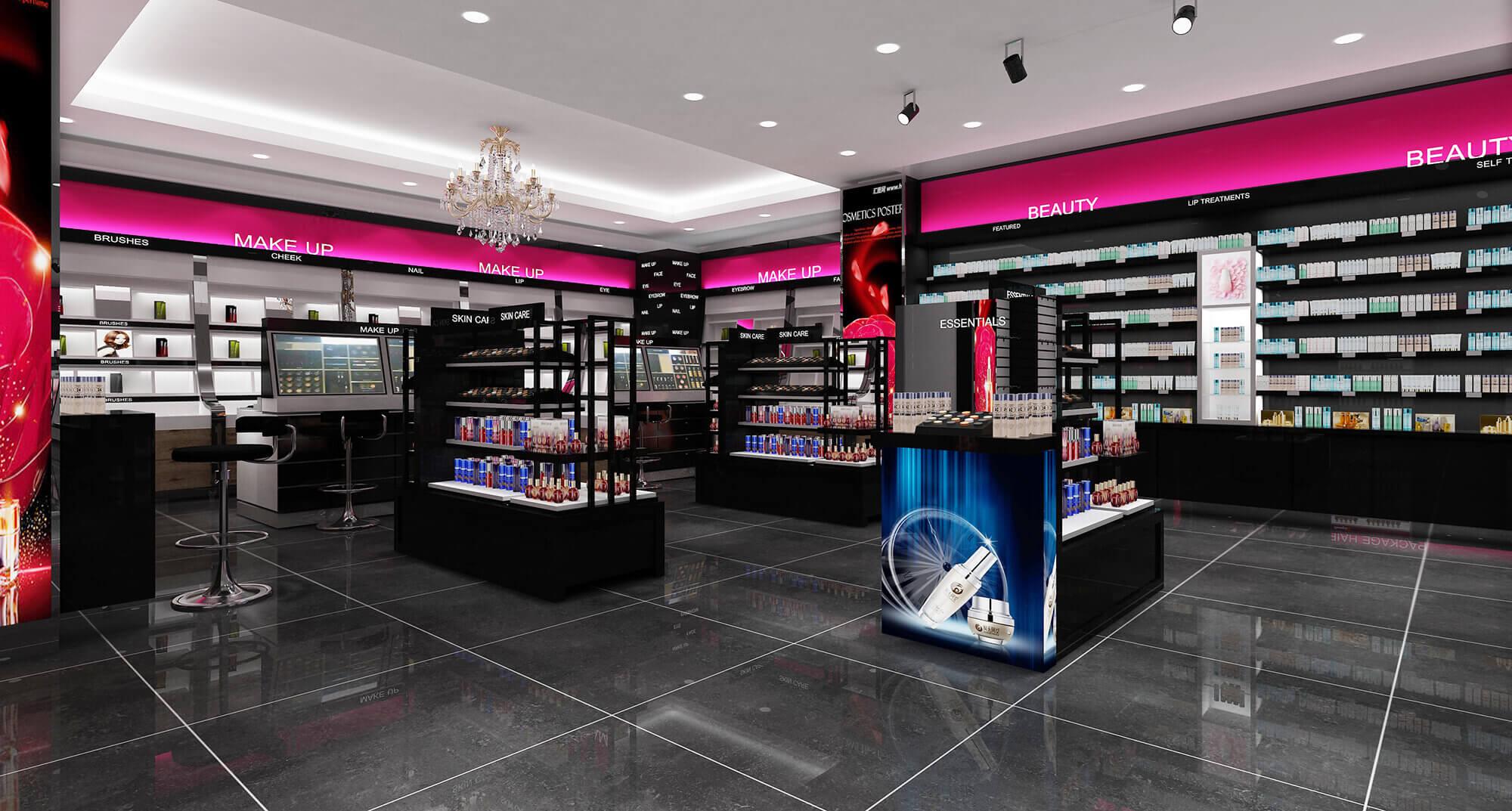Cosmetics store Gondola