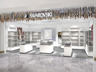 Swarovski retail shop design