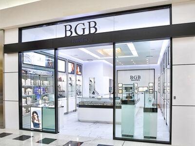 White Paint BGB Jewellery Retail Shop