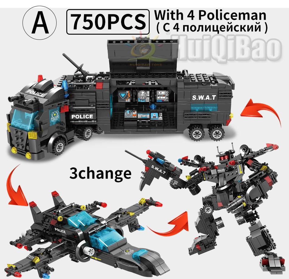 Lego Swat Police Station