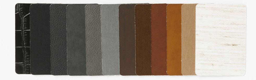 materiales de cuero