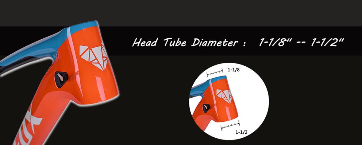 MFM100 Suspension MTB Frame Features 01