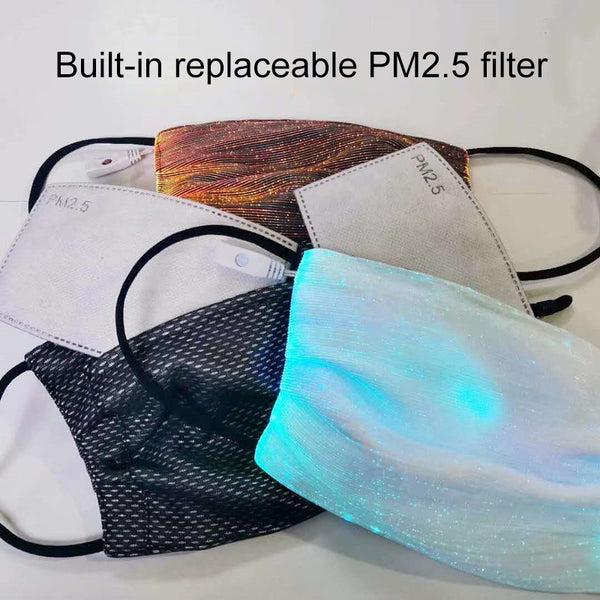 LED Light Up Masks Luminous Glowing Masks-aolanscctv