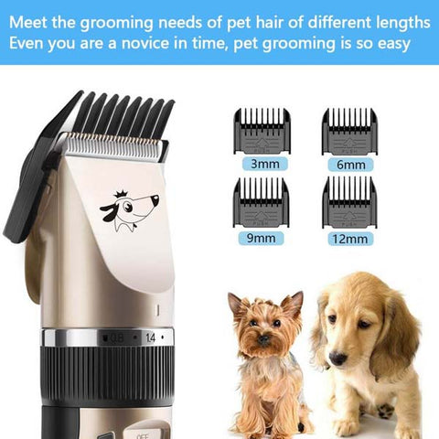 Pet Electric Clipper Rechargeable USB Hair Trimmer
