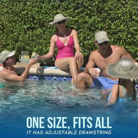 Sunstroke Prevented Cooling Hat