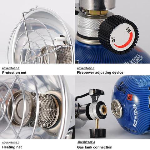 Electronic Camping Warmer Gas Heater-2