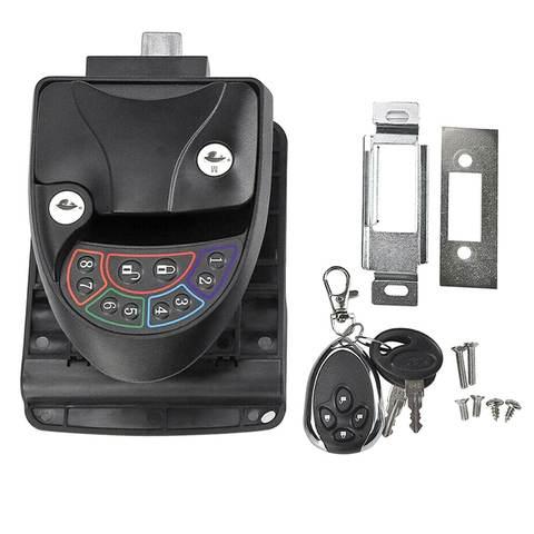 Remote-Control Keyless Entry RV Door Lock-2