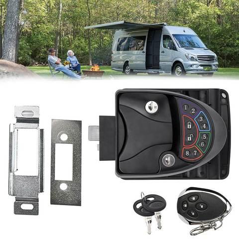 Remote-Control Keyless Entry RV Door Lock-8