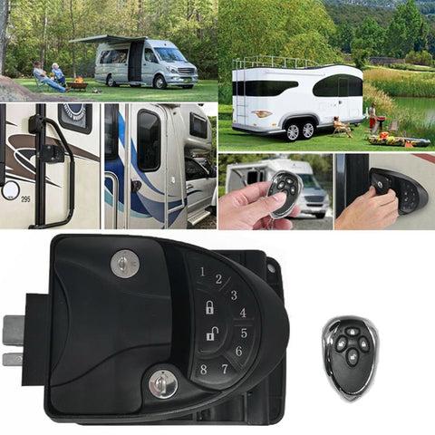 Remote RV Camper Caravan Entry Door Lock-6