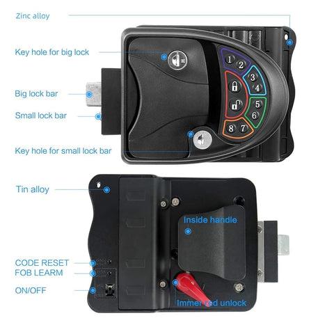 20M Wireless Remote-ControlRV Keyless Entry Door Lock-6