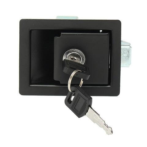 Black Rv Car Paddle Entry Door Lock-6