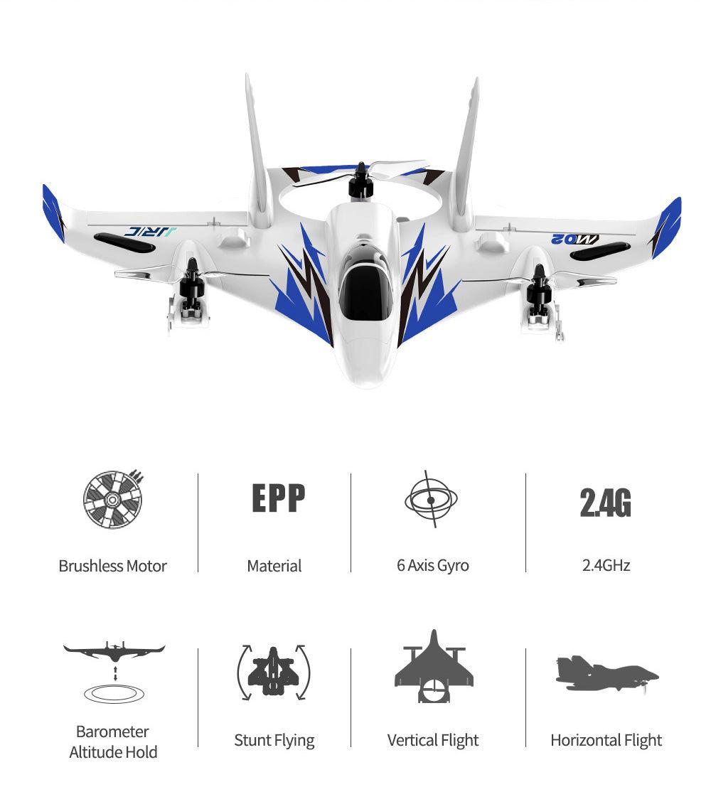 Brushless Motor,Barometer,Altitude Hold,6A is Gyro,2.4GHz,Stunt Flying,Vertical Flight,Horizontal Flight,Material