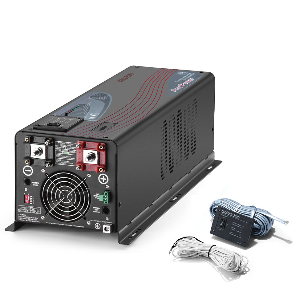 4000W 12V Split Pure Sine Wave Inverter