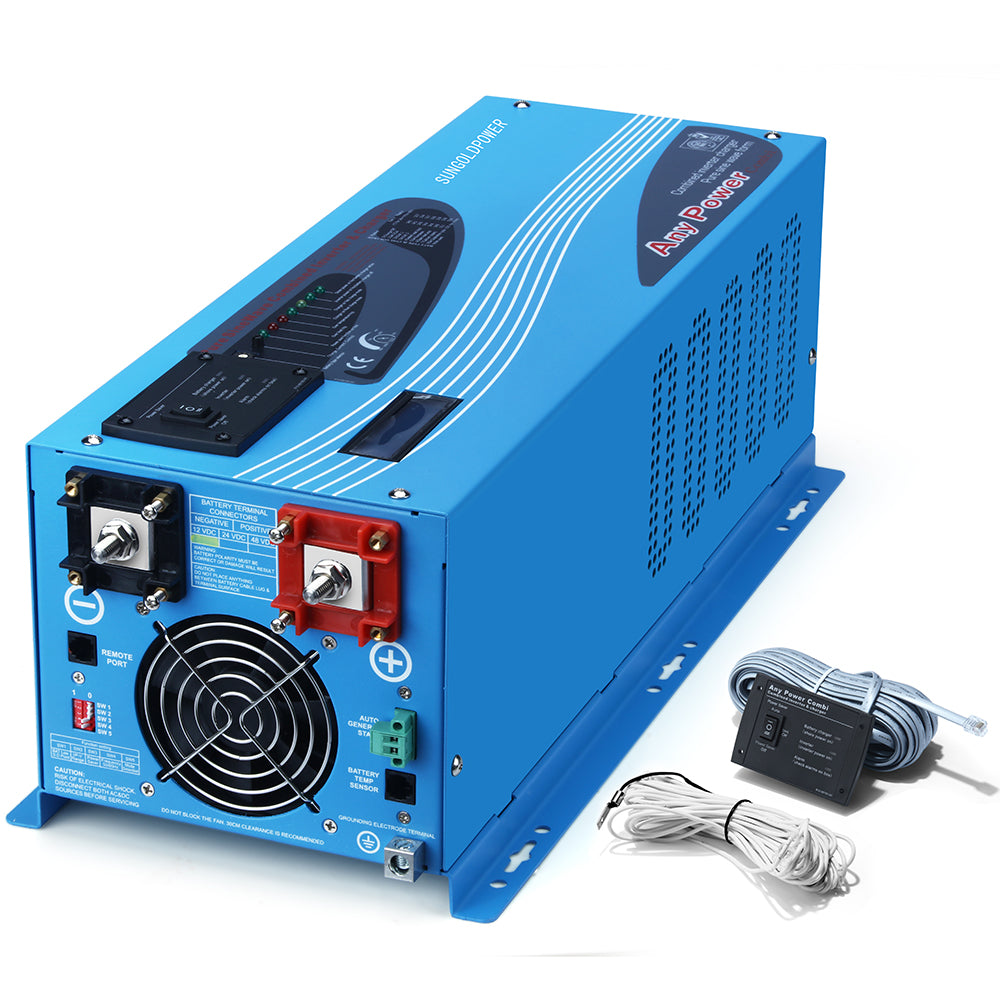 2000W 12V Pure Sine Wave Inverter With Charger