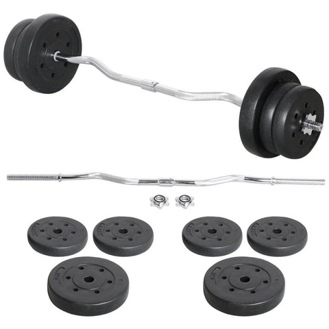 Olympic Curl Bar Set